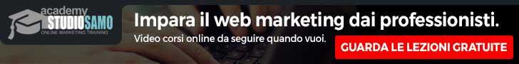Corsi online di Web Marketing