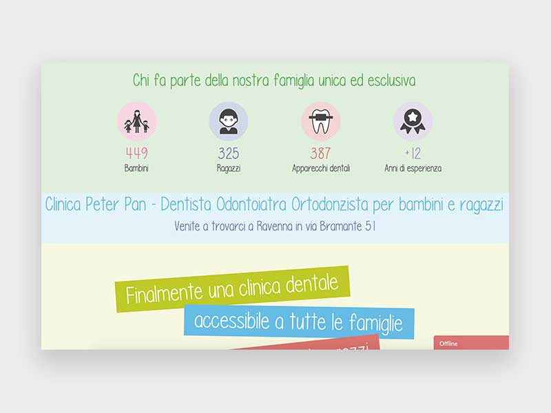 Home page Clinica Peter Pan