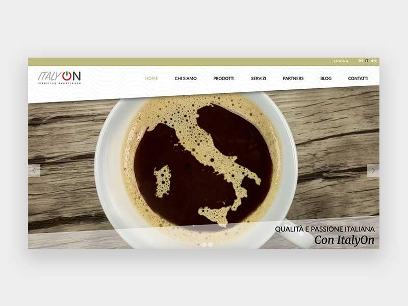 Home page ItalyOn